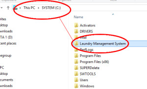 software program aplikasi laundry